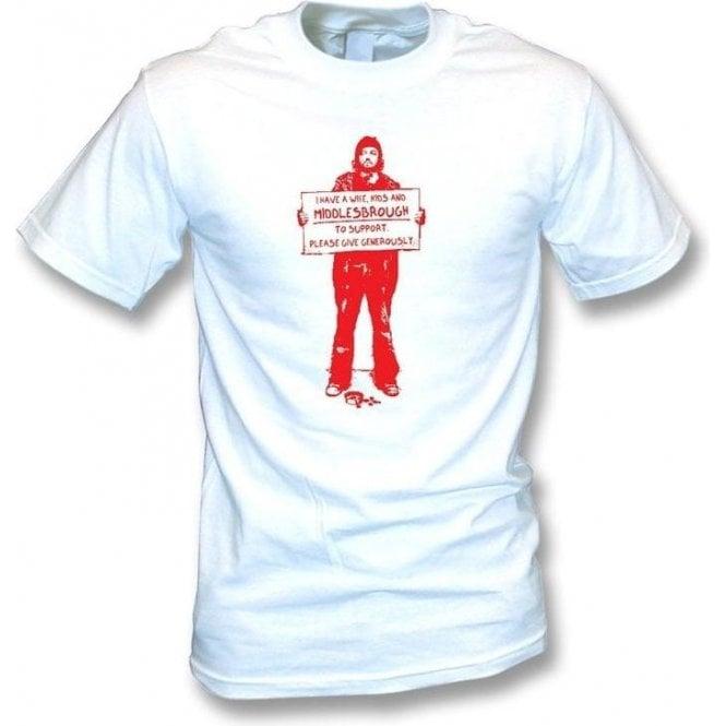I Support Middlesbrough T-shirt