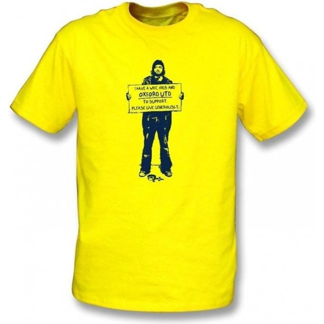 I Support Oxford Utd T-shirt