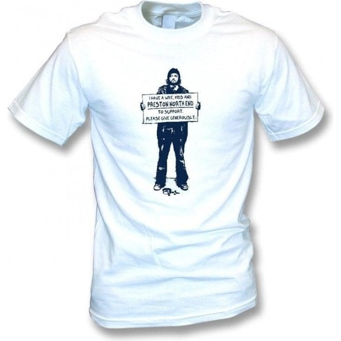 I Support Preston North End T-shirt