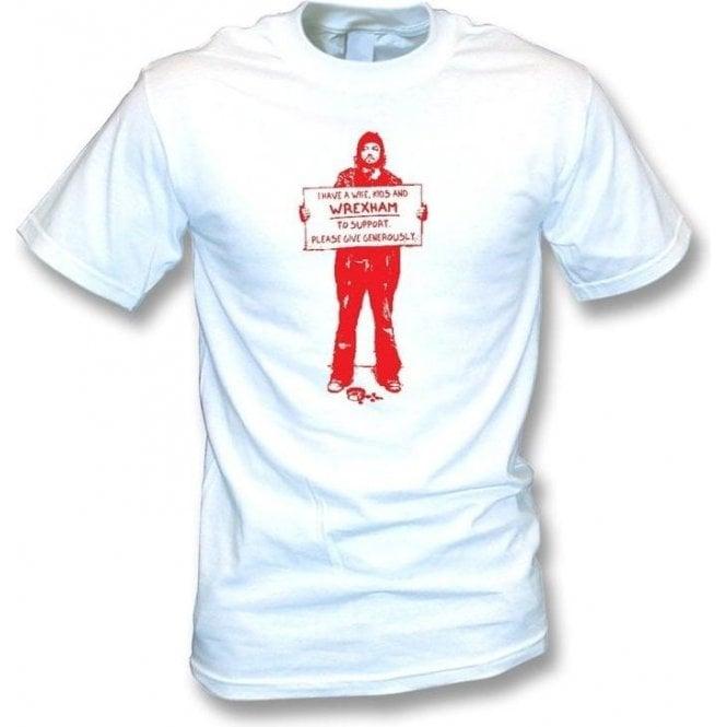 I Support Wrexham T-shirt