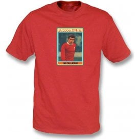 Ian Callaghan 1970 (Liverpool) Red T-Shirt