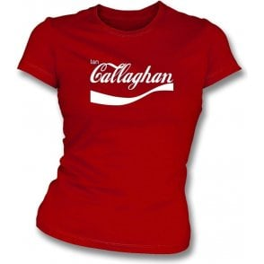 Ian Callaghan (Liverpool) Enjoy-Style Womens Slim Fit T-Shirt