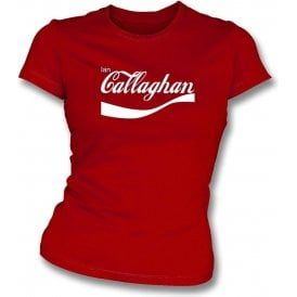 Ian Callaghan (Liverpool) Enjoy-Style Womens Slim Fit T-Shirt