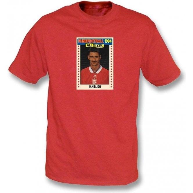 Ian Rush 1994 (Liverpool) Red T-Shirt