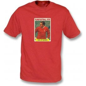 Ian St John 1970 (Liverpool) Red T-Shirt
