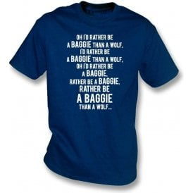 I'd Rather Be A Baggie Than A Wolf (West Brom) Kids T-Shirt