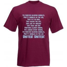 I'm Forever Blowing Bubbles Kids T-Shirt (West Ham)