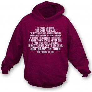 I'm Proud To Be (Northampton Town) Kids Hooded Sweatshirt