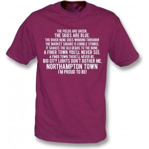 I'm Proud To Be (Northampton Town) Kids T-Shirt
