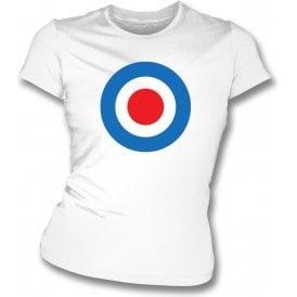 Inverness Classic Mod Target Womens Slim Fit T-Shirt