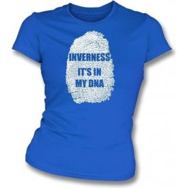 Inverness - It's In My DNA Womens Slim Fit T-Shirt