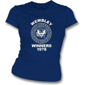 Ipswich Wembley Winners 1978 Girl's Slim Fit T-shirt
