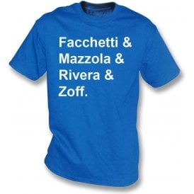 Italy World Cup 1974 Kids T-Shirt
