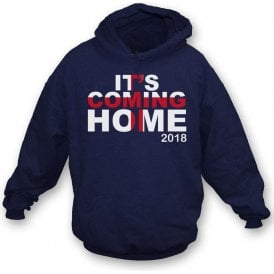 It's Coming Home (England 2018) Hooded Sweatshirt