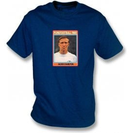 Jackie Charlton 1969 (Leeds United) Navy T-Shirt