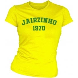 Jairzinho 1970 (Brazil) Womens Slim Fit T-Shirt