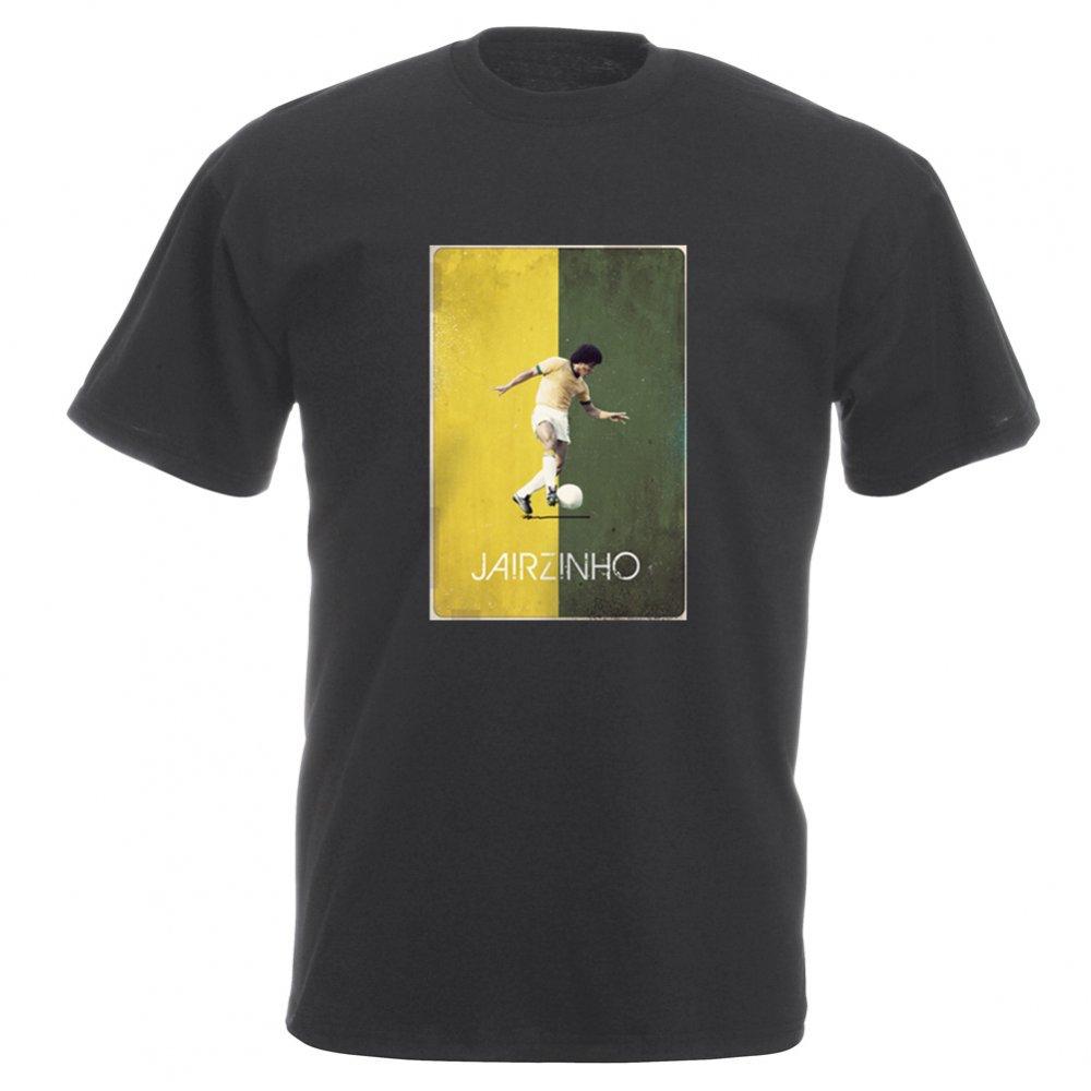 Jairzinho Brazil 70 s Vintage Poster Vintage Wash T Shirt from