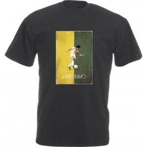 Jairzinho (Brazil) 70's Vintage Poster Vintage Wash T-Shirt