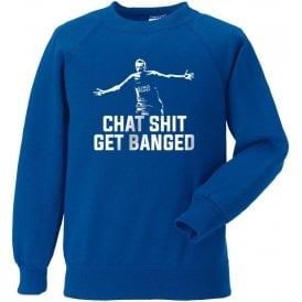 Jamie Vardy - Chat Sh*t Get Banged Sweatshirt (Leicester City)