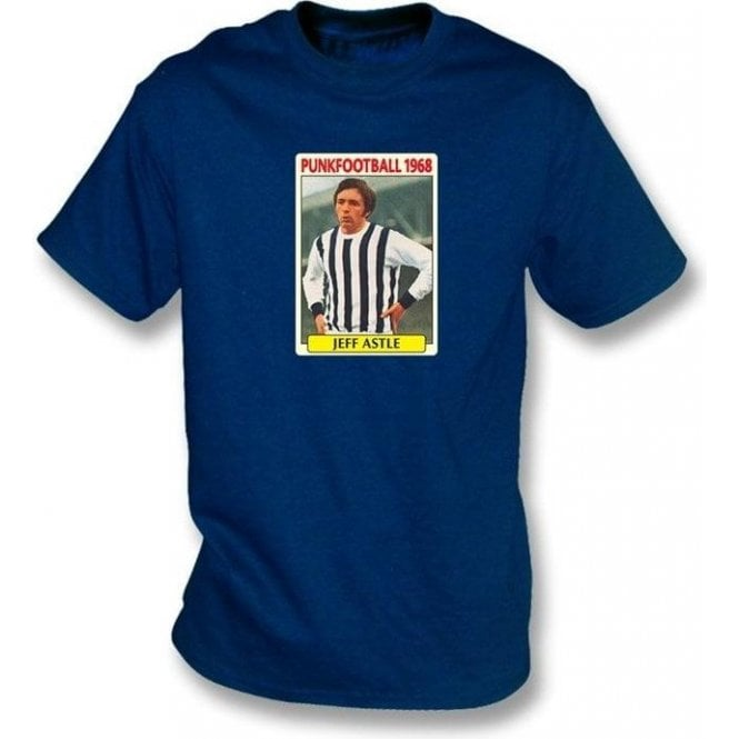 Jeff Astle 1968 (West Brom) Navy T-Shirt