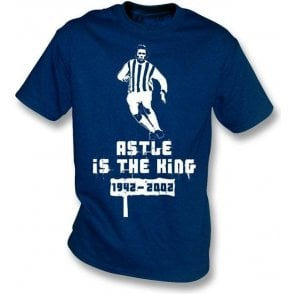 Jeff Astle Is The King t-shirt