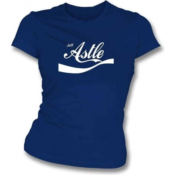 Jeff Astle (West Brom) Enjoy-Style Womens Slim Fit T-Shirt