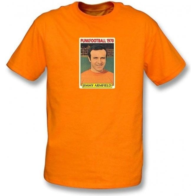 Jimmy Armfield 1970 (Blackpool) Orange T-Shirt