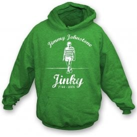 Jimmy Jinky Johnstone hooded sweatshirt