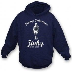 Jimmy Jinky Johnstone hooded sweatshirt