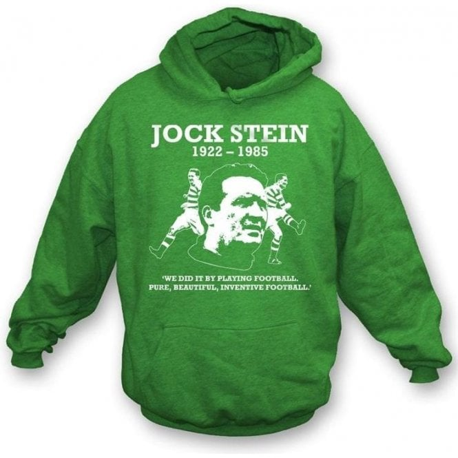 Jock Stein - Pure, Beautiful, Inventive Football hooded sweatshi