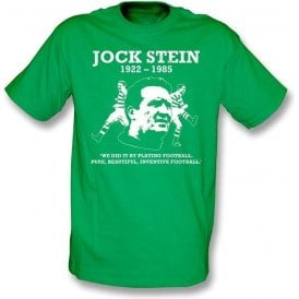 Jock Stein - Pure, Beautiful, Inventive Football t-shirt