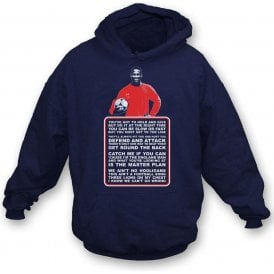 John Barnes - World In Motion Kids Hooded Sweatshirt