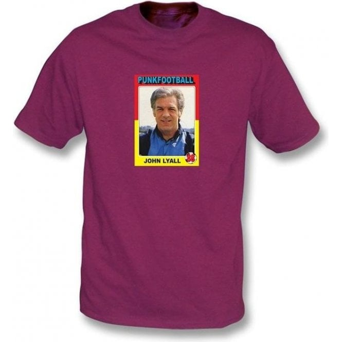 John Lyall 1988 (West Ham) Maroon T-Shirt