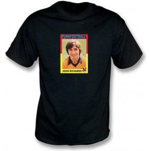 John Richards 1981 (Wolves) Black T-Shirt