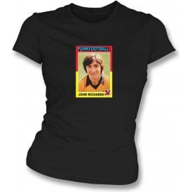 John Richards 1981 (Wolves) Black Women's Slimfit T-Shirt