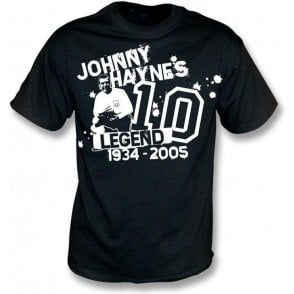 Johnny Haynes Tribute t-shirt