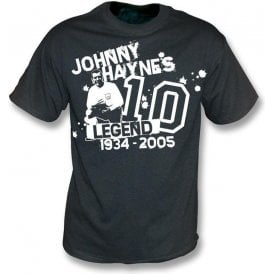 Johnny Haynes Tribute vintage wash t-shirt