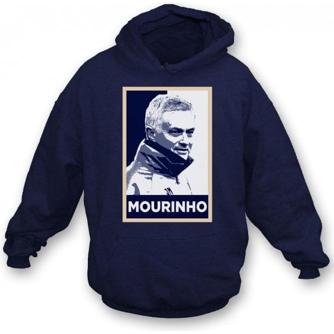 Jose Mourinho - Hope Poster (Tottenham Hotspur) Hooded Sweatshirt