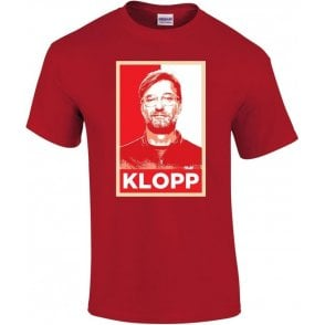 Jurgen Klopp - Hope Poster (Liverpool) Kids T-Shirt
