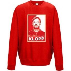 Jurgen Klopp - Hope Poster (Liverpool) Sweatshirt