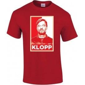 Jurgen Klopp - Hope Poster (Liverpool) T-Shirt