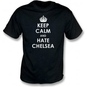 Keep Calm And Hate Chelsea T-shirt (Fulham)