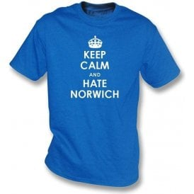Keep Calm And Hate Norwich T-shirt (Ipswich Town)