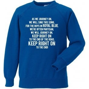 Keep Right On Sweatshirt (Birmingham City)