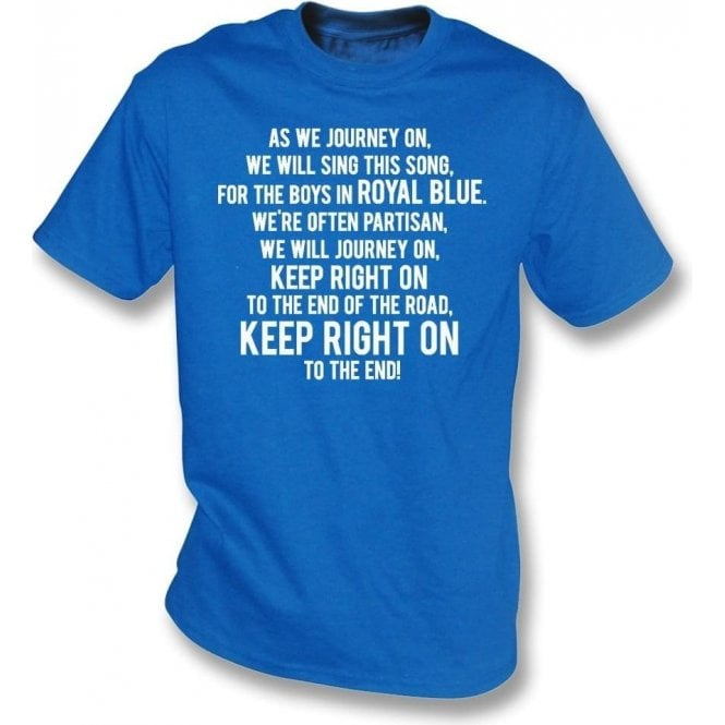 Keep Right On T-Shirt (Birmingham City)