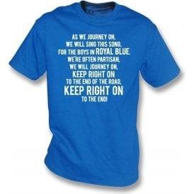 Keep Right On T-Shirt (Birmingham City)