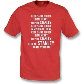 Keep St. George In My Heart (Accrington Stanley) Kids T-Shirt