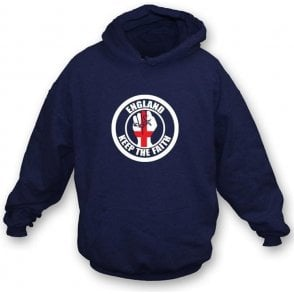 Keep the Faith England Hooded Sweatshirt