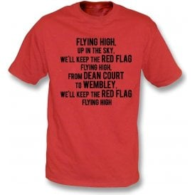 Keep The Red Flag Flying High Kids T-Shirt (Bournemouth)