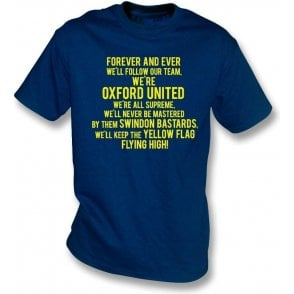 Keep The Yellow Flag Flying High (Oxford United) T-Shirt